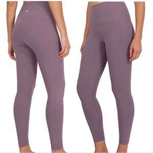 90 Degrees by Reflex Light Purple Yoga Pants